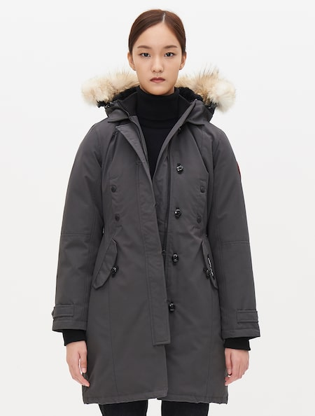 3aed8c1f0111 (Women) Kensington Parka FF - Grey