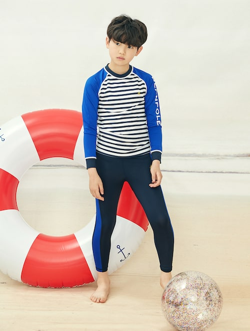 a5a0f9f4fd 19SS Beanpole Kids Surfing Boy Rash Guard Set Discount price USD 89.56 Sale  price USD 94.28 Discount rate5%