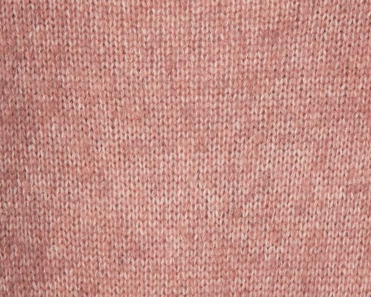 에잇세컨즈(8SECONDS) 라이트 핑크 변형 케이블 크롭 니트 카디건 (110Y5AKY2Y)