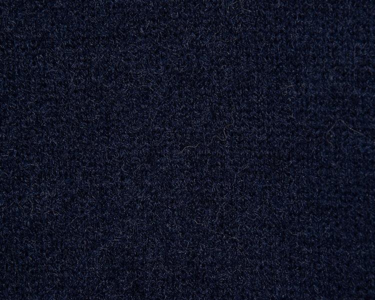 에잇세컨즈(8SECONDS) 네이비 밑단 자카드 패턴 브이넥 카디건 (420Y5AEY2R)