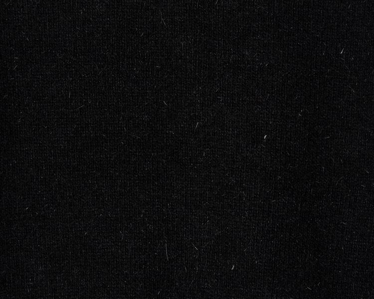 에잇세컨즈(8SECONDS) 블랙 앙고라 진주 버튼업 니트 카디건 (120Y5ADY25)