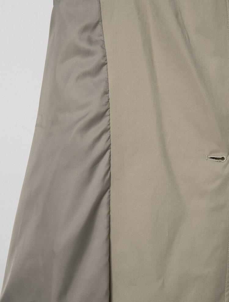 에잇세컨즈(8SECONDS) 베이지 디테쳐블 져지 후드 쇼트 트렌치 코트 (32193TGY1A)
