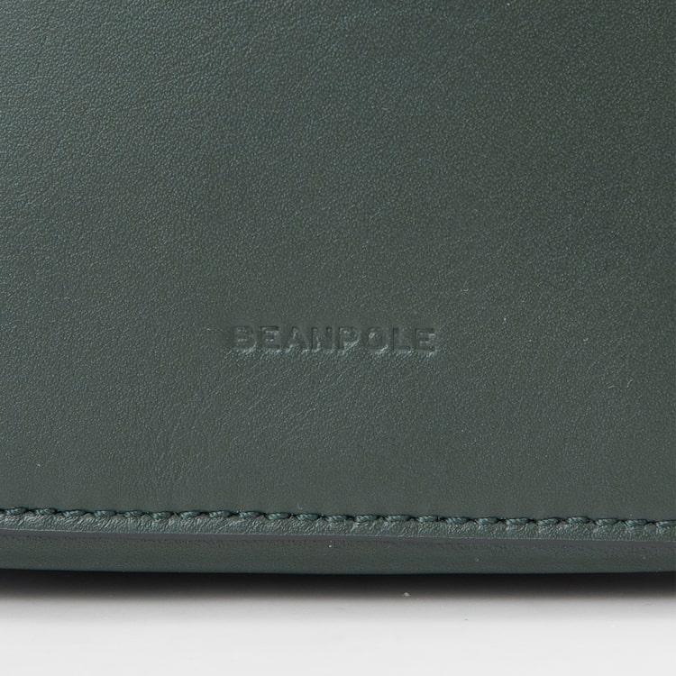 빈폴 액세서리(BEANPOLE ACCESSORY) 여성 그린 테이트 빈 스몰 버킷백 (BE99D3P03M)
