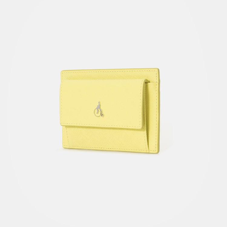 빈폴 액세서리(BEANPOLE ACCESSORY) 미니 빈 앞포켓 카드지갑 - Yellow (BE01A4M32E)