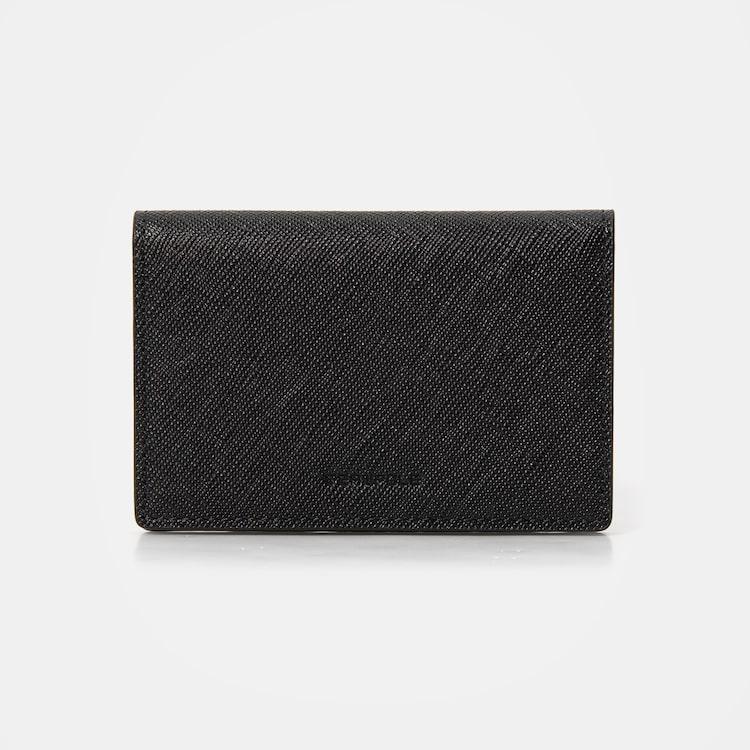 빈폴 액세서리(BEANPOLE ACCESSORY) 블랙 루시 3단 장지갑 (BE01A4T015)