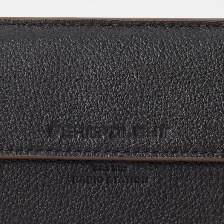 빈폴 액세서리(BEANPOLE ACCESSORY) 블랙 라이트 빈 포켓 카드지갑 (BE02A4M845)