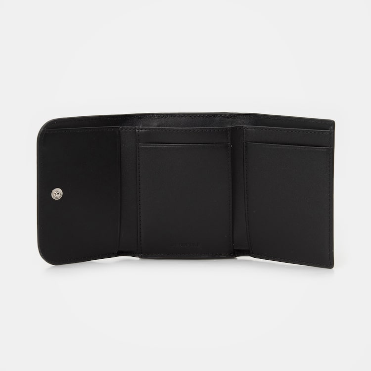 빈폴 액세서리(BEANPOLE ACCESSORY) 블랙 프레임 빈 반지갑 (BE01A4M715)