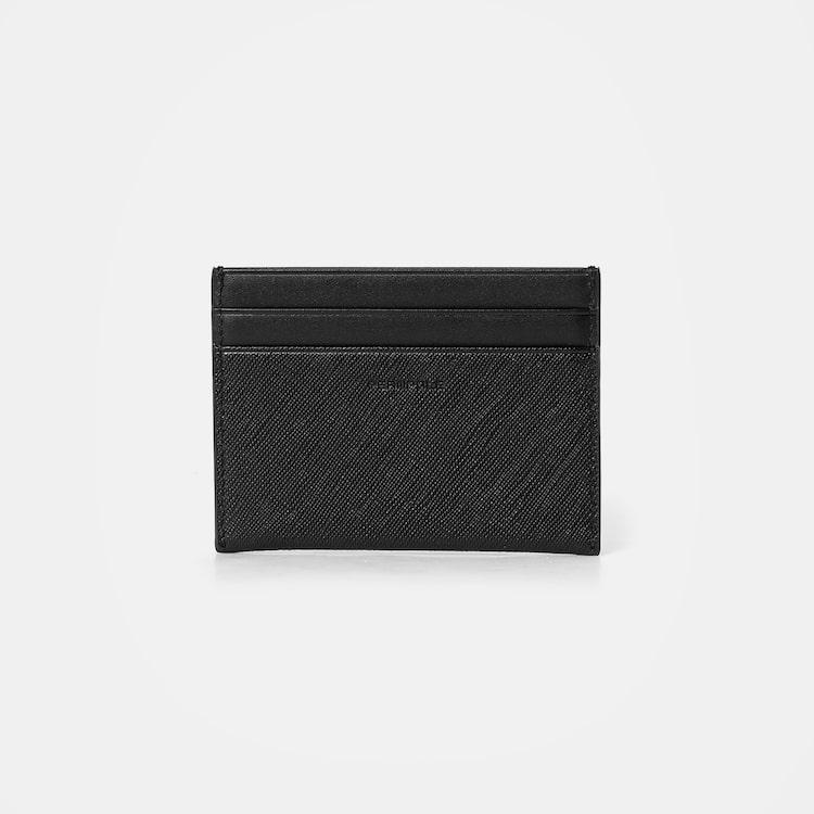 빈폴 액세서리(BEANPOLE ACCESSORY) 웨이즈빈 낱장 카드 지갑 - Black (BE06A3T485)