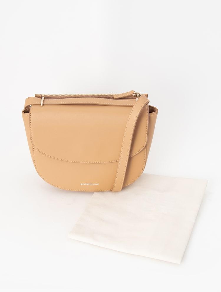 빈폴 액세서리(BEANPOLE ACCESSORY) JUNE 새들백  Light Tan (BE07D3W11A)