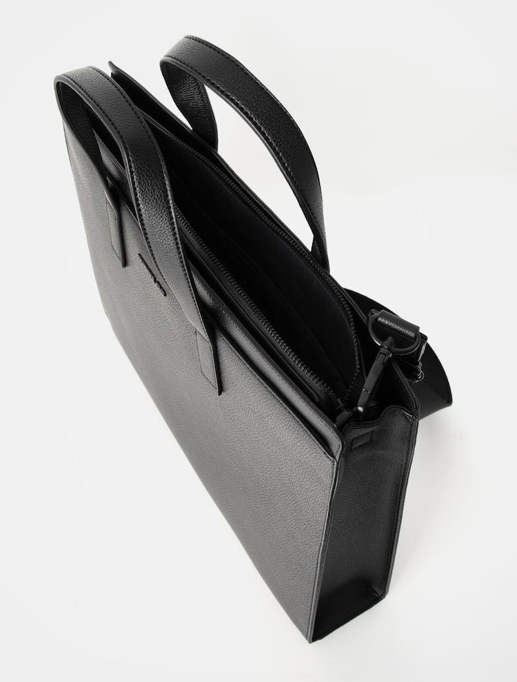 빈폴 액세서리(BEANPOLE ACCESSORY) 브라운 빈 서류가방  Black (BE07D2M755)