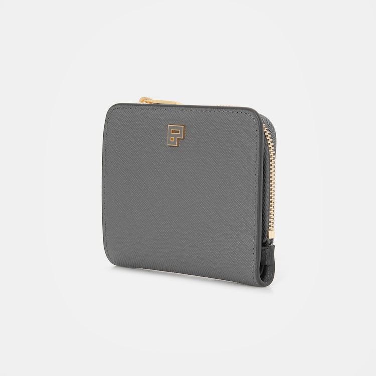 빈폴 액세서리(BEANPOLE ACCESSORY) 라이트 그린 모던 빈 미니지갑 (BE07A4M81L)