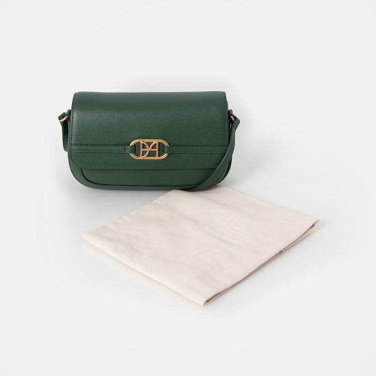 빈폴 액세서리(BEANPOLE ACCESSORY) 로얄 빈 미니 크로스백  Green (BE08D3P03M)