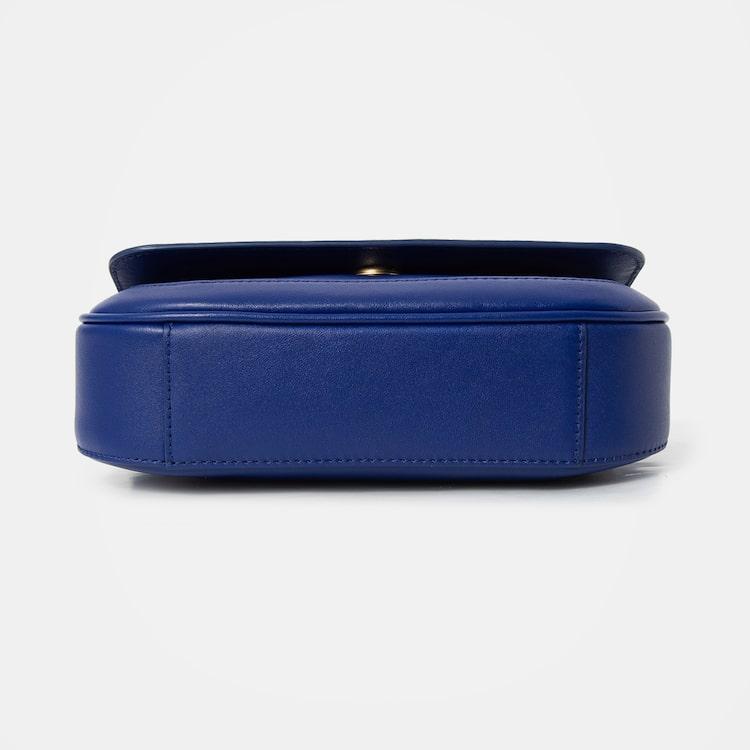 빈폴 액세서리(BEANPOLE ACCESSORY) 로얄 빈 미니 크로스백  Blue (BE08D3P03P)
