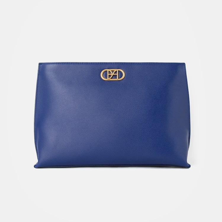빈폴 액세서리(BEANPOLE ACCESSORY) 로얄 빈 클러치백  Blue (BE08A4M64P)