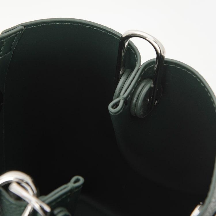 빈폴 액세서리(BEANPOLE ACCESSORY) 안테나 미니 버킷백 Green (BE08D3W22M)