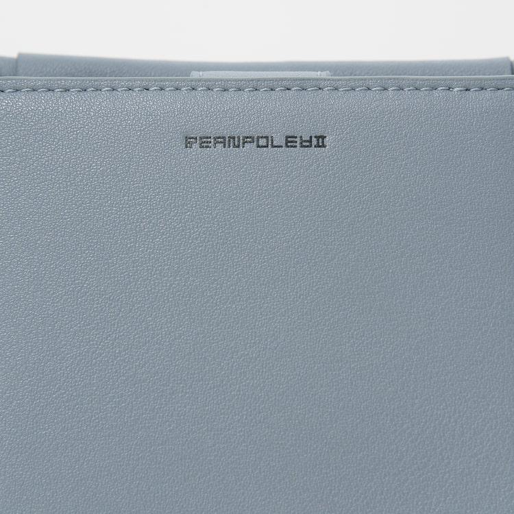 빈폴 액세서리(BEANPOLE ACCESSORY) 공용 스카이 블루 핸드폰 슬링백 (BE09A3W19Q)