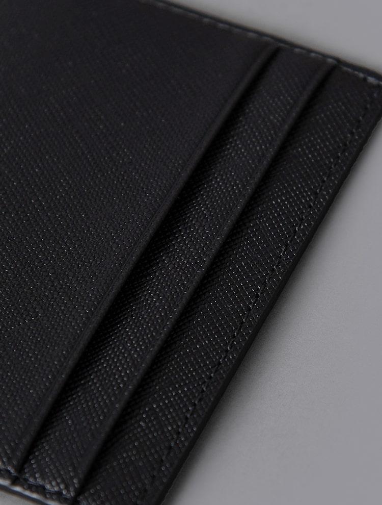 빈폴 액세서리(BEANPOLE ACCESSORY) 남성 블랙 오늘 (ONL) 낱장카드지갑 (BE11A3W035)
