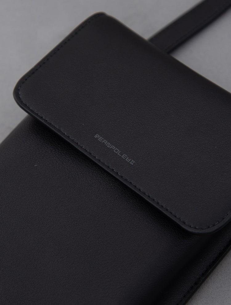 빈폴 액세서리(BEANPOLE ACCESSORY) 남성 블랙 구름 핸드폰 미니백 (BE11A3M455)