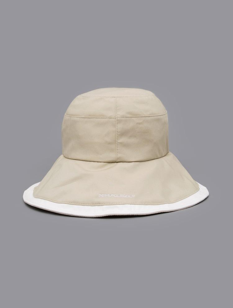 빈폴골프(BEANPOLE GOLF) 여성 베이지 배색 벙거지 (BJ118BA02A)