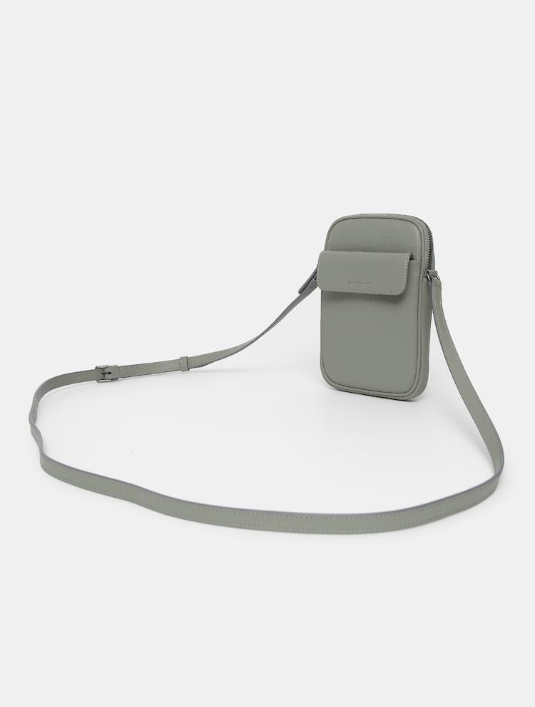 빈폴 액세서리(BEANPOLE ACCESSORY) 공용 라이트그린 Unisex 매일 지퍼 핸드폰 미니백 (BE12A3M55L)