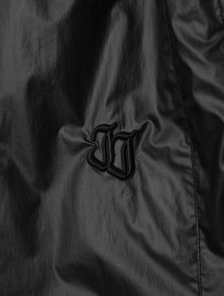 준지 우먼(JUUN.J WOMEN) (Women) 블랙 파이핑 와이드 밴딩 쇼트 팬츠