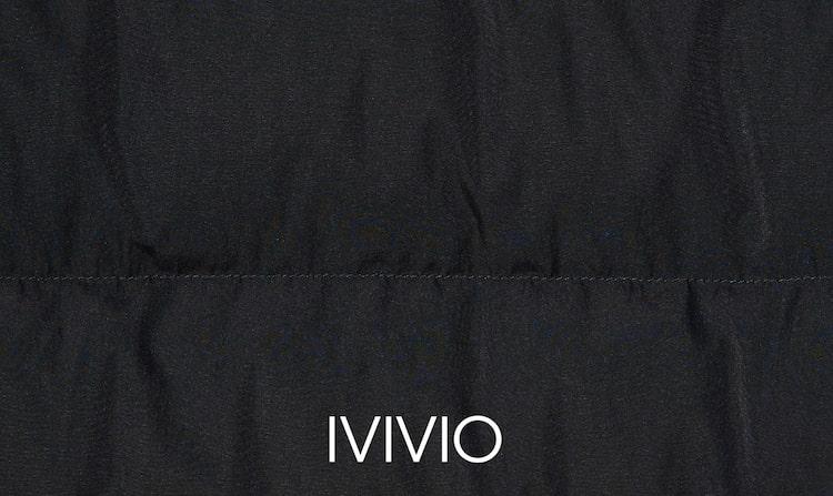 엠비오(MVIO) 블랙 덕 다운 숏 푸퍼