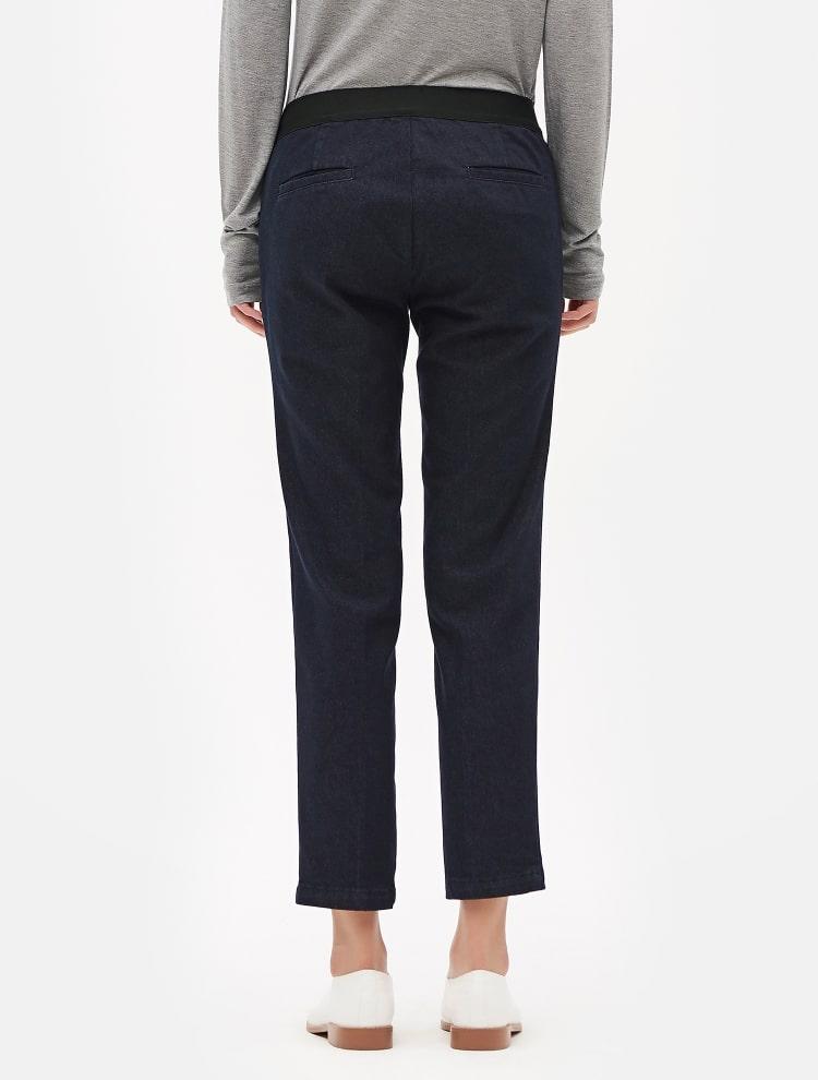 8SECONDS Relax Slim Pants Series - Navy | 11street ...