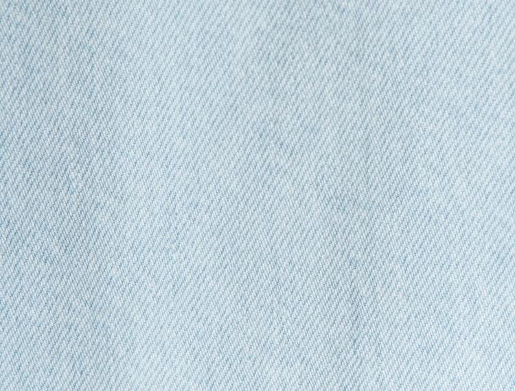 에잇세컨즈(8SECONDS) 스카이 블루 하이 웨이스트 딥 슬릿 데님 와이드 팬츠 (358421WP2Q)