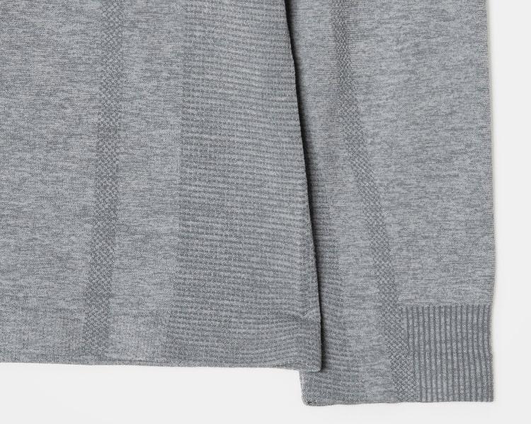 에잇세컨즈(8SECONDS) [ACTIVE8] 라이트 그레이 스트레치 트레이닝 티셔츠 (428841WA92)