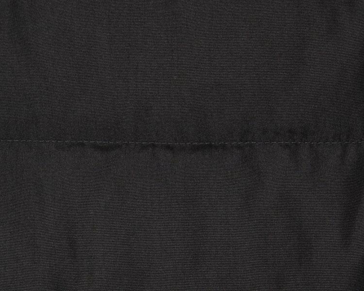 에잇세컨즈(8SECONDS) 블랙 리얼 FUR 오리털 패딩 점퍼 (118Y38SY45)