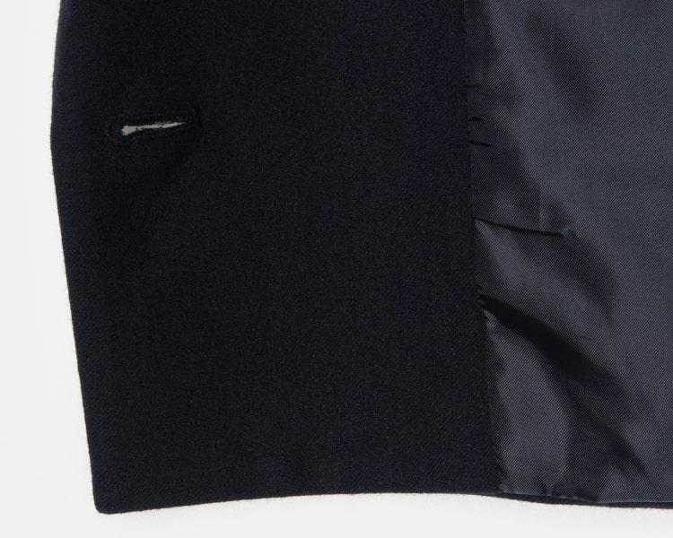 에잇세컨즈(8SECONDS) 네이비 솔리드 싱글 브레스티드 재킷 (119111AY3R)