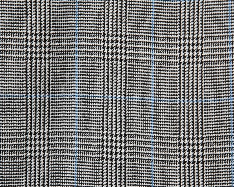 에잇세컨즈(8SECONDS) 블랙 글렌체크 패턴 슬림핏 슬랙스 (359121LF25)