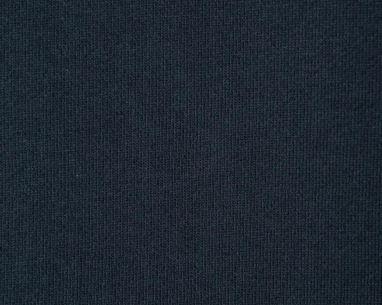 에잇세컨즈(8SECONDS) 네이비 솔리드 코튼 후드 티셔츠 (459141GY5R)