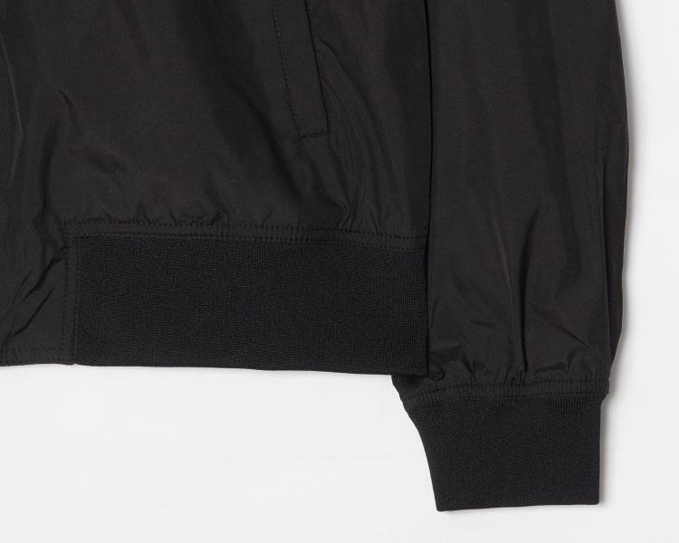 에잇세컨즈(8SECONDS) 블랙 베이직 MA-1 재킷 (459239GY15)