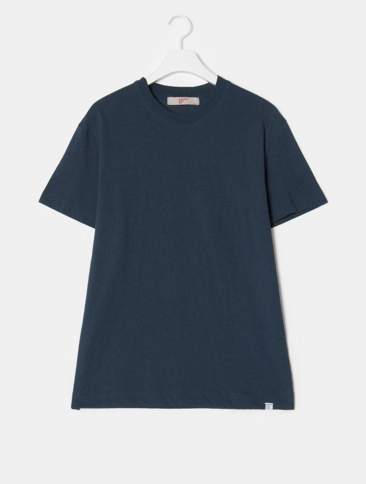 에잇세컨즈(8SECONDS) [LAB8] 블랙 솔리드 라벨링 티셔츠 (459142GL35)