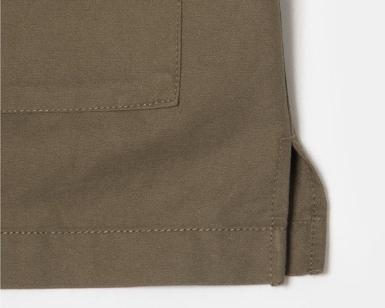 에잇세컨즈(8SECONDS) 카키 아웃 포켓 셔츠형 야상 재킷 (169339IY1H)
