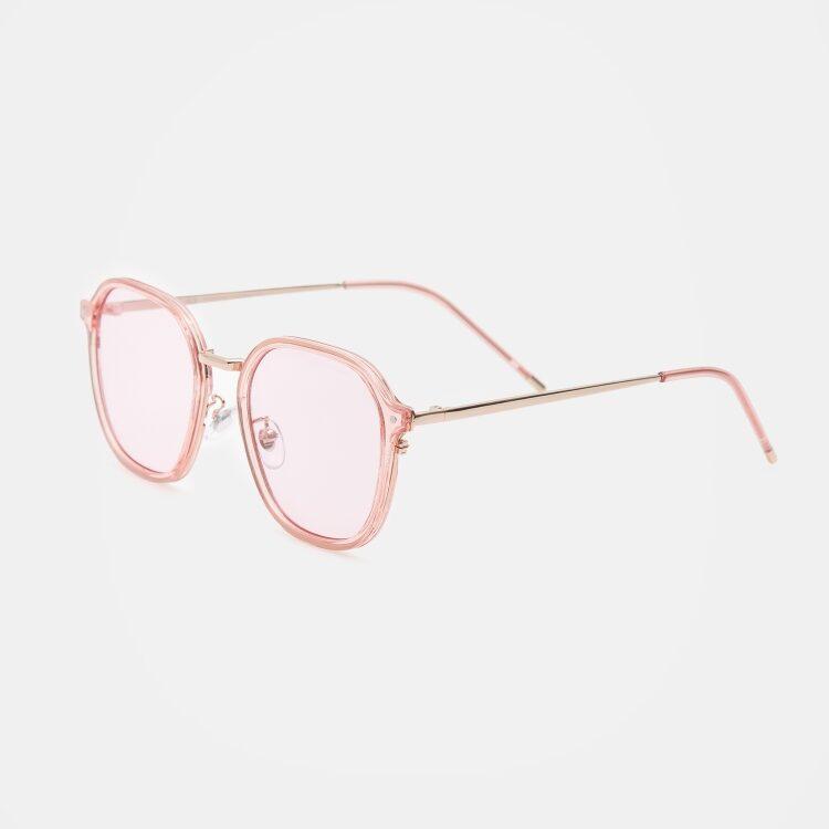 에잇세컨즈(8SECONDS) [8 X ALO] 라이트 핑크 베이직 반투명 선글라스 (19938DWY2Y)