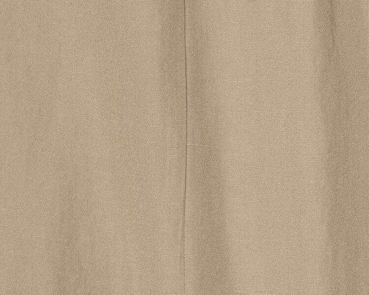 에잇세컨즈(8SECONDS) 베이지 리넨 블렌디드 핀턱 벨티드 롱 스커트 (159721GY1A)