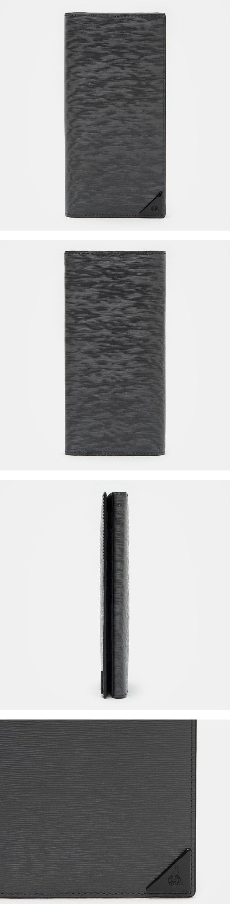빈폴 액세서리(BEANPOLE ACCESSORY) (남) 애쉬 에릭 장지갑 (BE81A3M104)