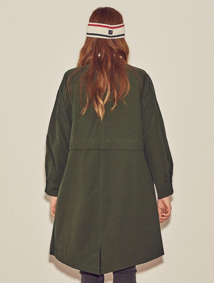 빈폴 스포츠(BEANPOLE SPORT) 올리브 여성 디테처블 재킷