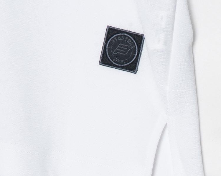 빈폴 스포츠(BEANPOLE SPORT) Unisex 화이트 오버핏 스포츠 헨리넥 티셔츠 (BO9442S141)