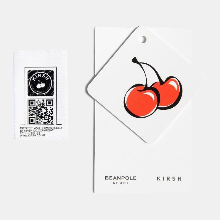 빈폴 스포츠(BEANPOLE SPORT) [BPS X KIRSH] CHERRY FLIP FLOPS - Black (BO95K3W025)