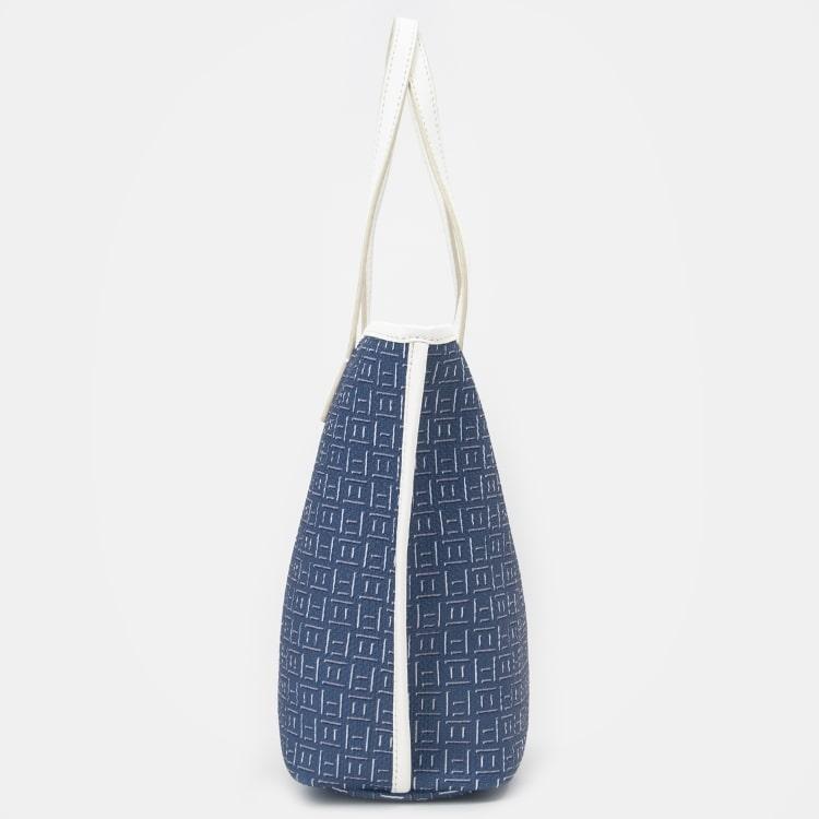 빈폴 액세서리(BEANPOLE ACCESSORY) 모노 폴 토트백 - Blue (BE96D3M22P)