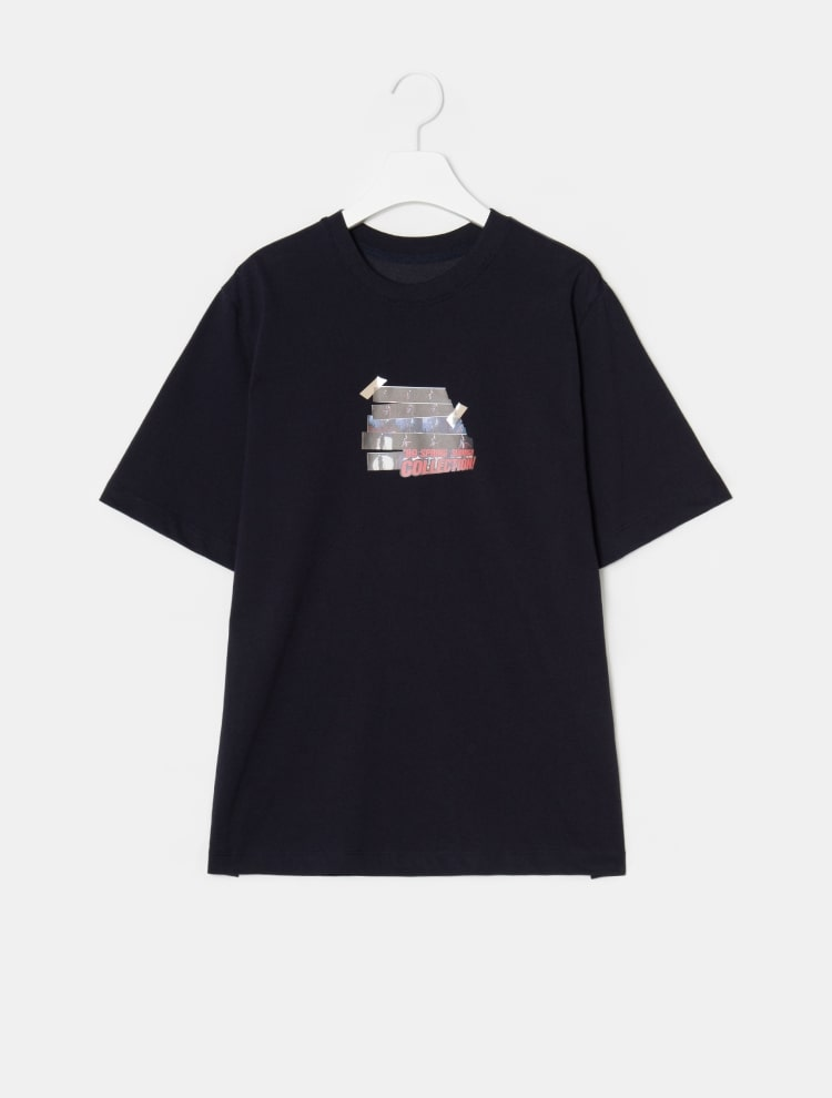빈폴 레이디스(BEANPOLE LADIES) [30주년 Limited] 라이트 핑크 포토 콜라주 프린트 티셔츠 (BF9742N01Y)