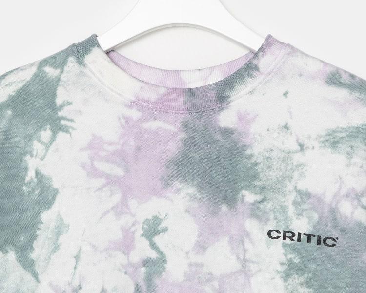 빈폴 스포츠(BEANPOLE SPORT) [BPS X CRITIC] 19FW Tie-dye Logo Print Sweatshirt_Khaki