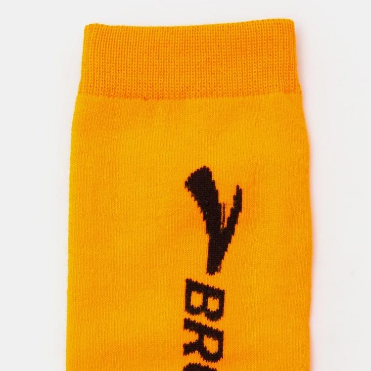 브룩스(BROOKS) Unisex 리플렉티브 KNEE 양말 오렌지 (BX92KTN018)