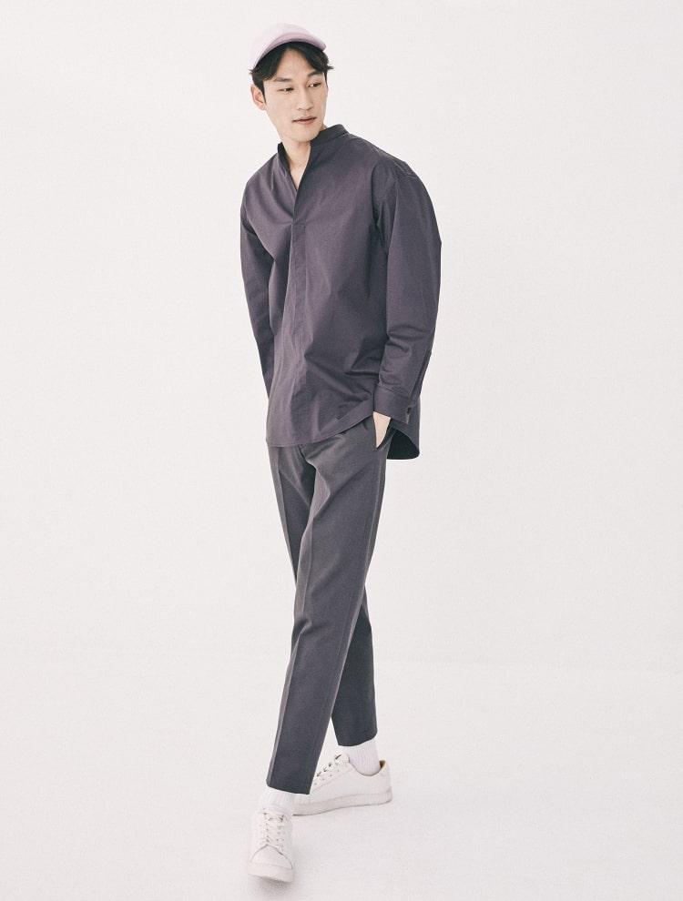 엠비오(MVIO) [MA:SIL] 애쉬 테이퍼드 치노 팬츠