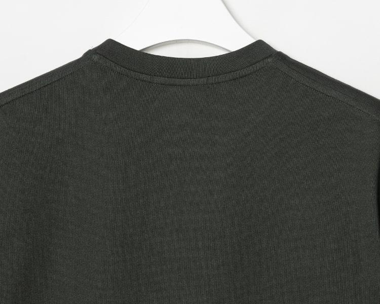 엠비오(MVIO) [MA:SIL] 애쉬 프리미엄 코튼 로고 엠브로이더리 반팔 티셔츠