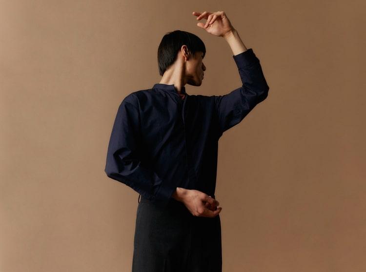 엠비오(MVIO) 핑크 프리미엄 코튼 로고 프린트 반팔 티셔츠