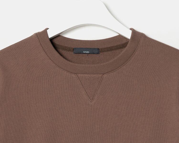 엠비오(MVIO) [MA:SIL] 인디핑크 사이드 포켓 스웨트셔츠